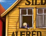 500takk-yellow house