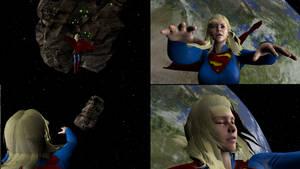 Supergirl saving the world 3