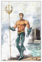 Aquaman by Ceduardocunha