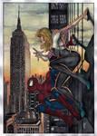 Spider-Man and Spider-Gwen