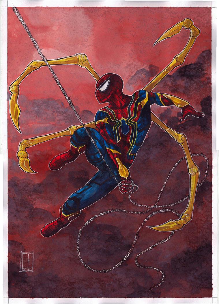 Spider-Man Infinity War by Ceduardocunha