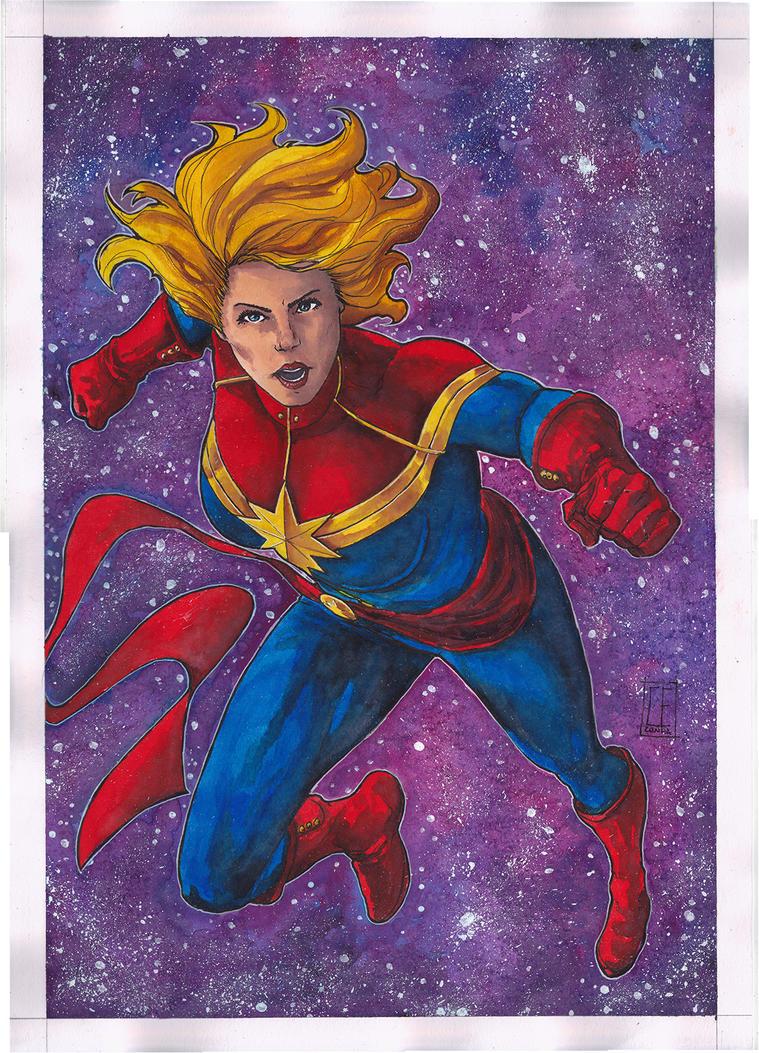 Captain Marvel by Ceduardocunha