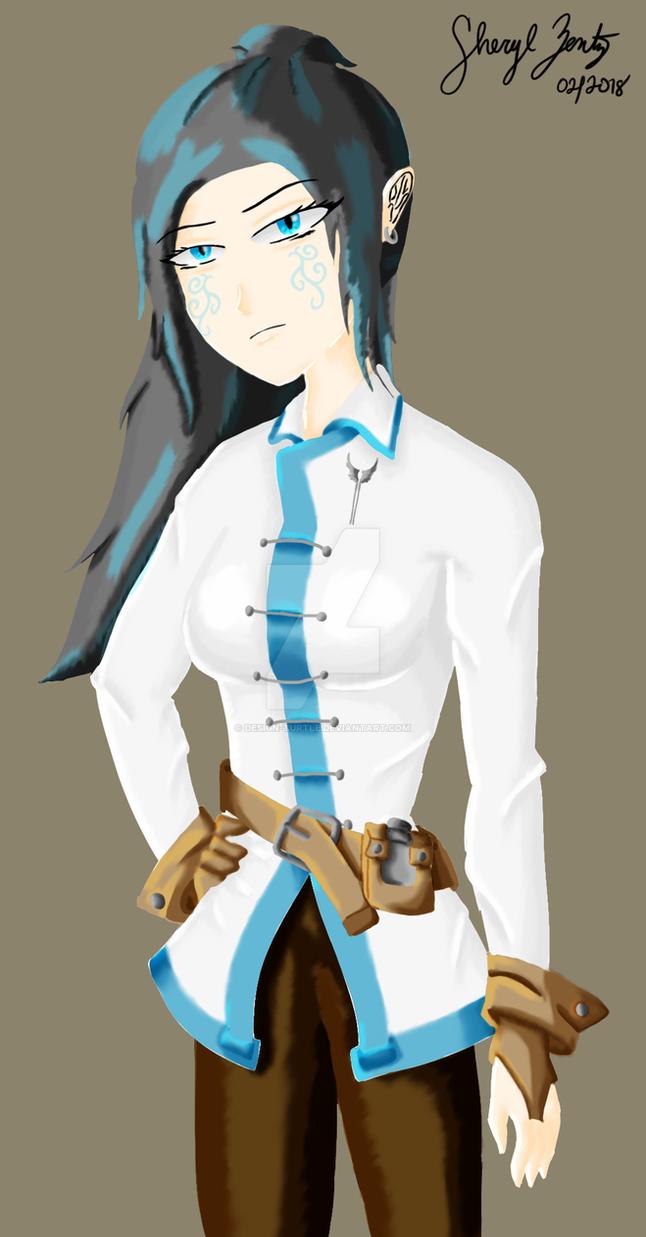 Adalinda Ortinbras: Guild outfit by Design-Turtle