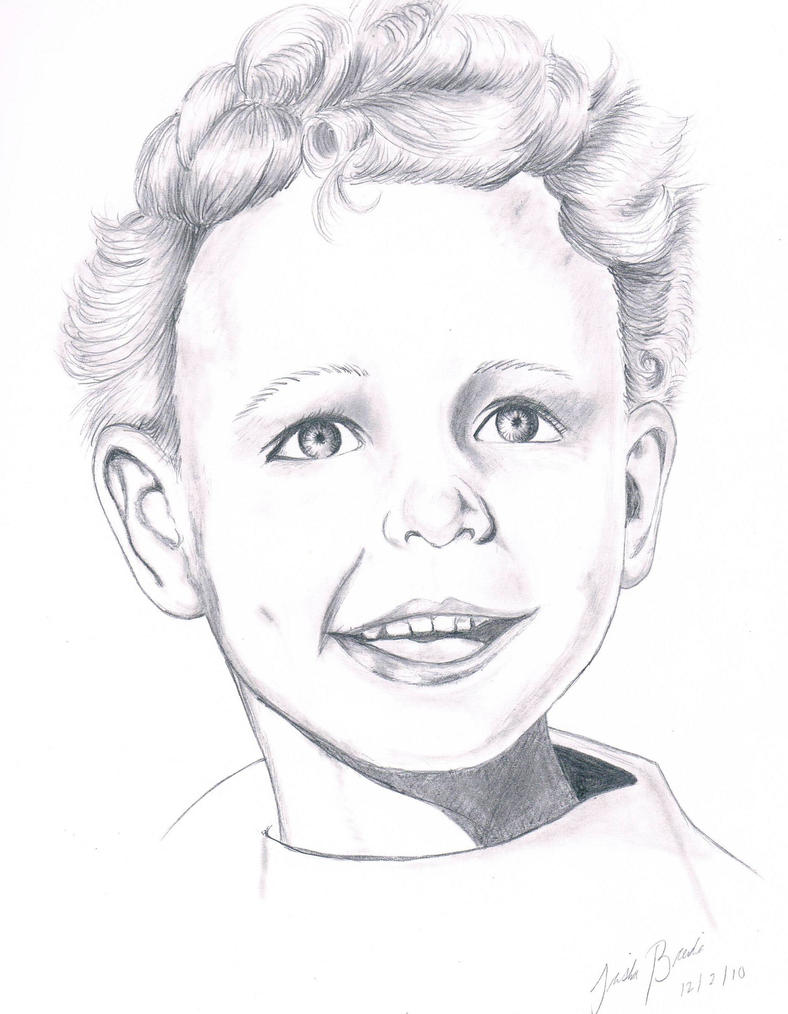 Realistic Boy Drawing by tbrendia on DeviantArt