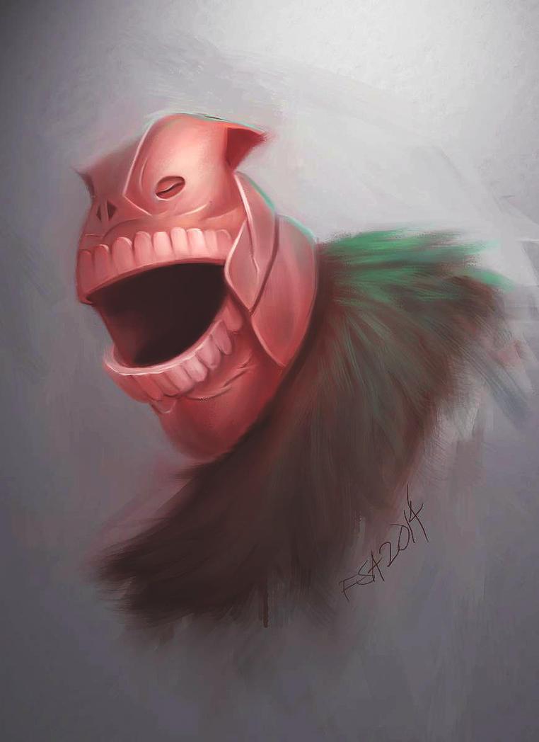 Bleach fanart  ( Shrieker ) by think2wise07