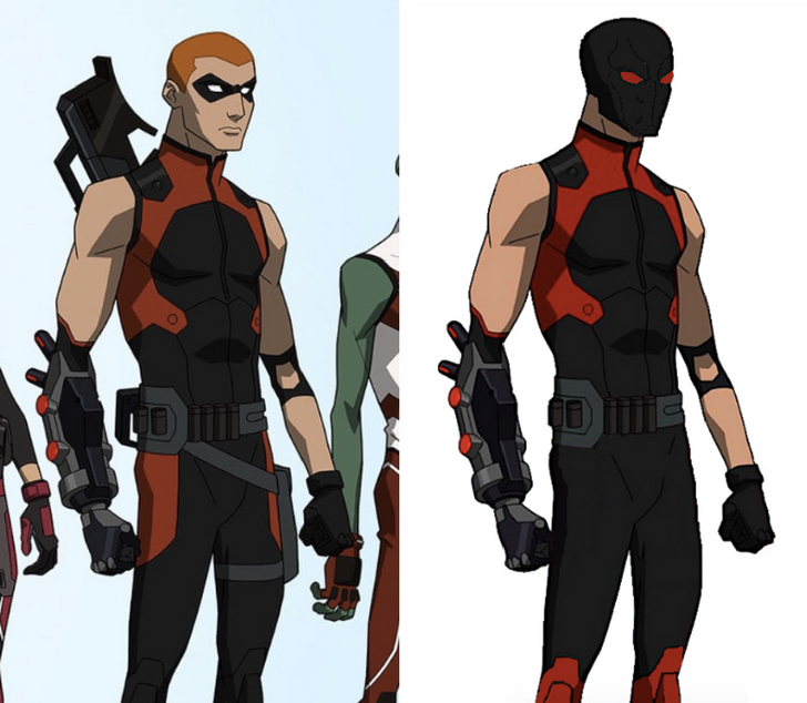 Young Justice Arsenal
