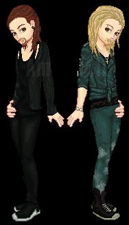 Kaulitz Twins by Amakai411
