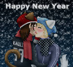 New Years Kiss by Amakai411