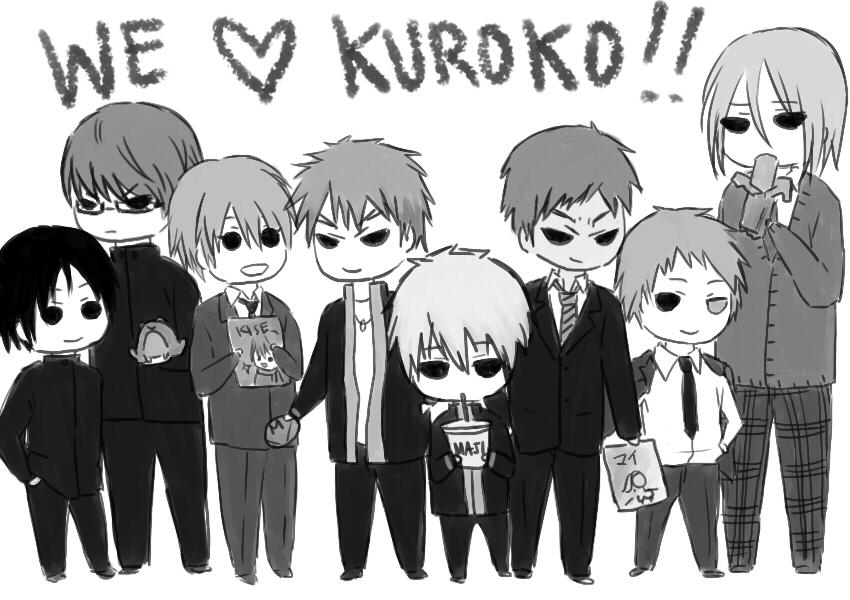 we love kuroko by sierria