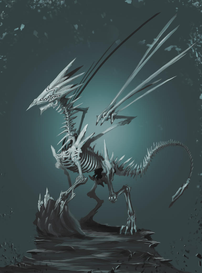 Boss of the skeleton dragons - Level 4 by dk266