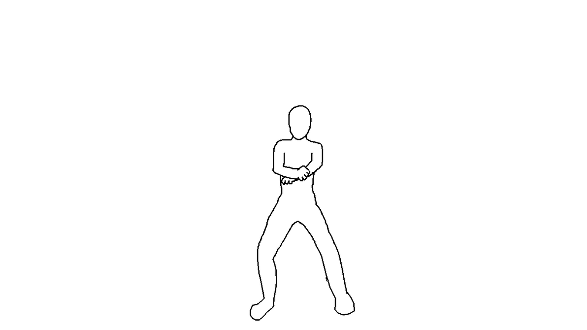 Gangnam style Animation Dance Base Frames Guide by mayahatsune on ...