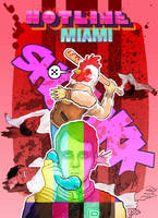Hotline Miami by HARARTIGAN
