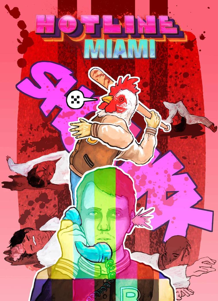 Hotline Miami by HARARTIGAN