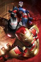 Iron Man 3 Promotion Poster Design by Ken-Sanada
