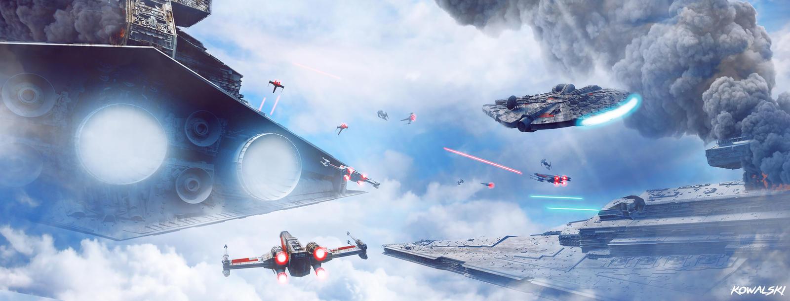 Star Wars - Epic Sky Battle