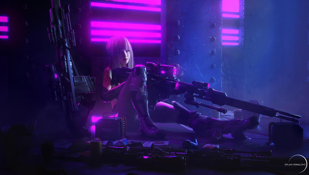 CS-MKII  -  Sniper Girl by Dylan-Kowalski