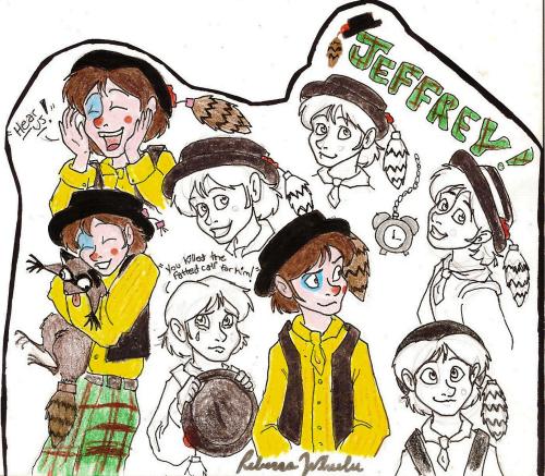 Jeffrey Mylett Drawings by SeltzerAddict
