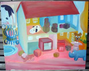 Still Life Oil Painting -2- by SeltzerAddict