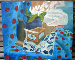 Still Life Oil Painting -3- by SeltzerAddict