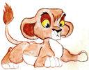Vitani as a Cub by SeltzerAddict