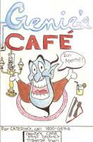 Genie's Cafe Menu by SeltzerAddict