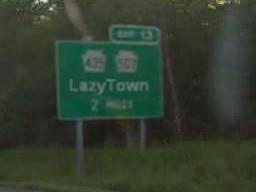 LazyTown, 2 miles by SeltzerAddict