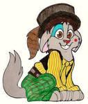 Jeffrey Mylett as a cat by SeltzerAddict
