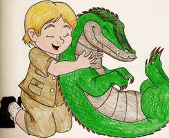 Tribute to Steve Irwin by SeltzerAddict