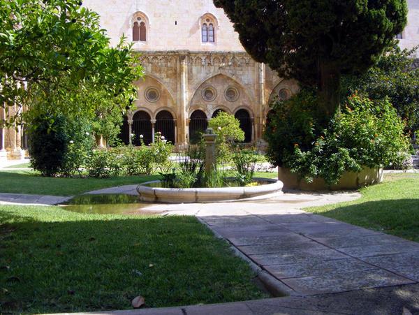 cloister courtyard garden