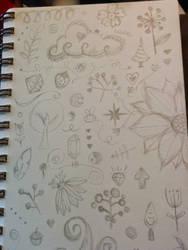 Random doodle crap by steffy0075