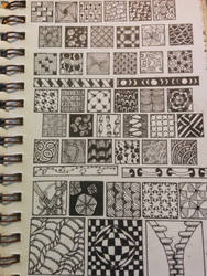 Tangle Patter Practice #2 by steffy0075