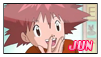 Jun Motomiya Stamp by JubiaMaJo