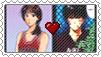Rukawa x Haruko Stamp by JubiaMaJo