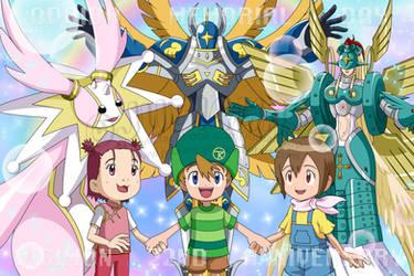 ODAIBA MEMORIAL DAY 2021: Seinaru Digimon by JubiaMaJo