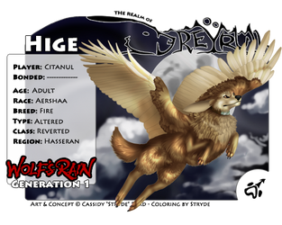 Hige by Dreywalker