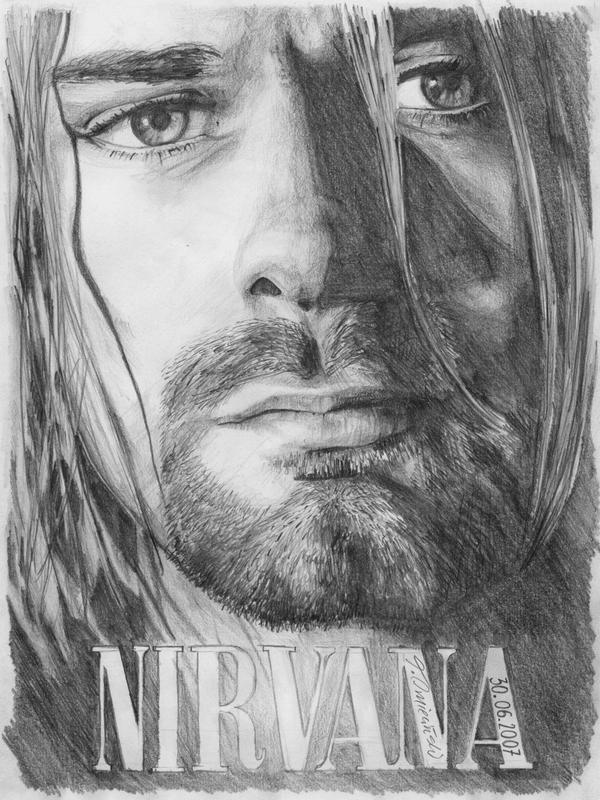 Kurt Cobain By TomekO On DeviantArt