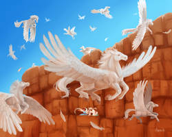 The Great Annual Pegasus Migration