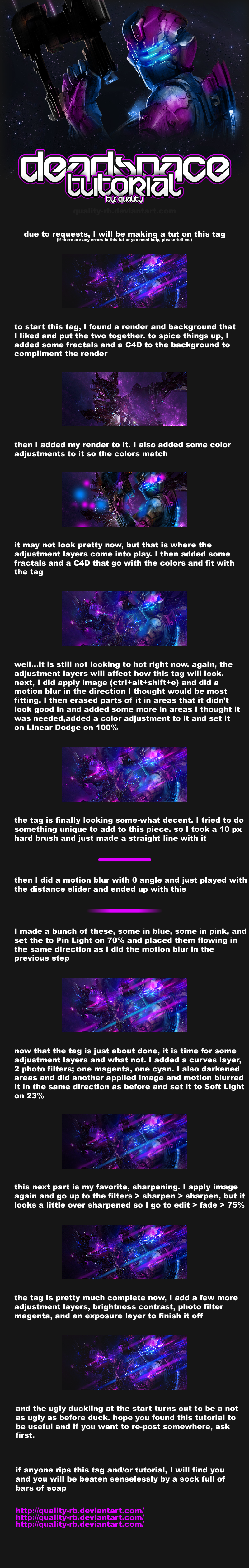 Dead space tutorial 2 by quality rb on deviantart for Space art tutorial