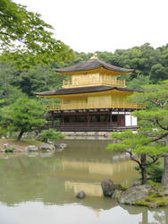 Golden Pavilion by archaemic