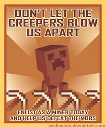 Minecraft Propaganda: Creeper