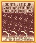 Minecraft Propaganda: Ore