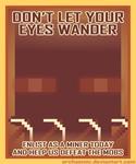 Minecraft Propaganda: Endermen by archaemic