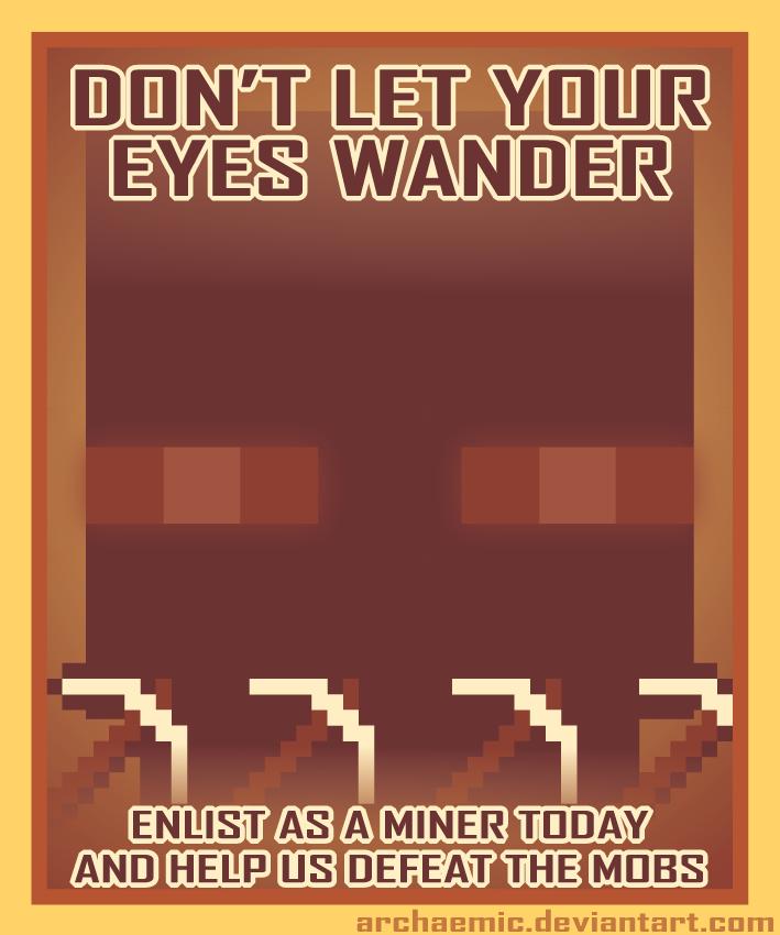 Minecraft Propaganda: Endermen