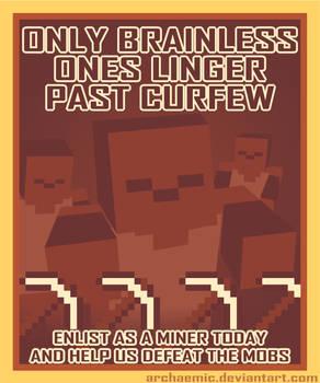 Minecraft Propaganda: Zombie