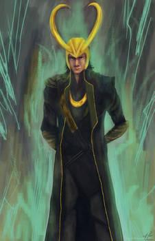 Loki Laufeyson by affectionateTea