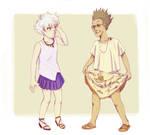 boys in dresses