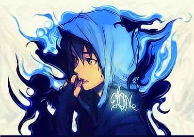 Anime Guy By Hamfr1