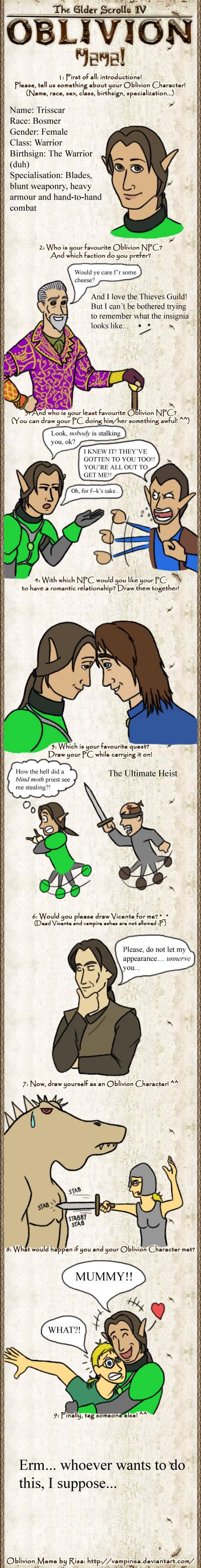 Oblivion Meme by Kordyne