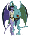 Gargoyles and Mistletoe