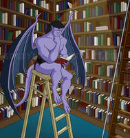Goliath in the Library (Lights On) by Kordyne